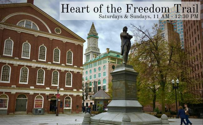 Heart of the Freedom Trail November Boston By Foot