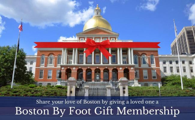 Share your love of Boston by giving a loved one a Boston By Foot Gift Membership