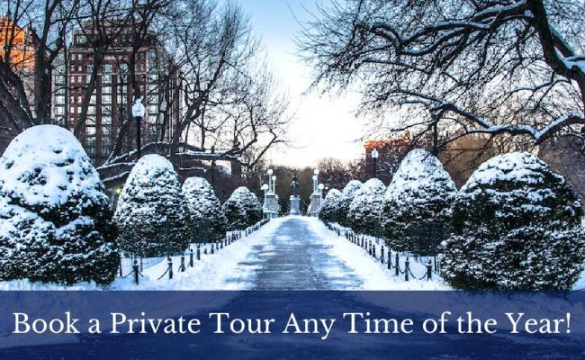 Book a Private Tour Any Time of the Year