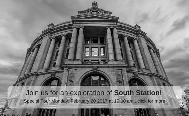 Join us for a special tour of South Station, click for more