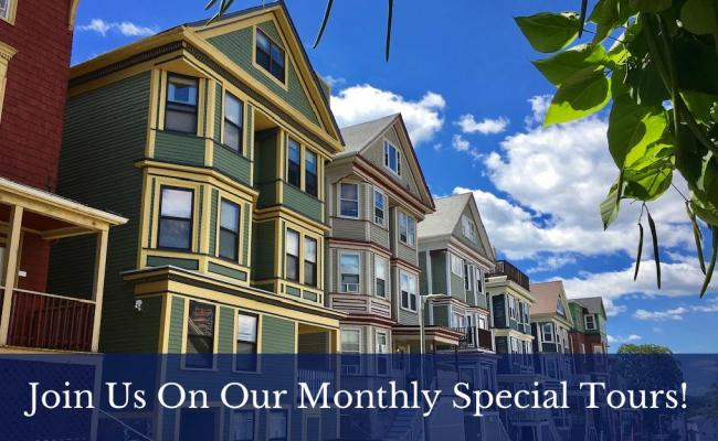 Join us on our monthly special tours!