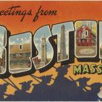 Greetings from Boston, Courtesy of the Boston Public Library